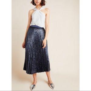 Maeve Natalia Sequined Midi Skirt Sz 10 NEW